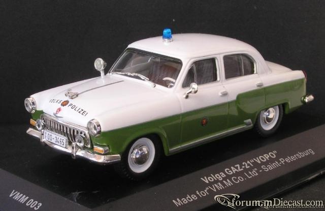 Volga GAZ 21 VoPo DDR