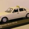 Mercedes-Benz W126 500 SE Taxi Minichamps