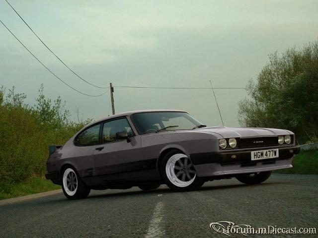 ford capri mk3 x-pack, minilites wheels