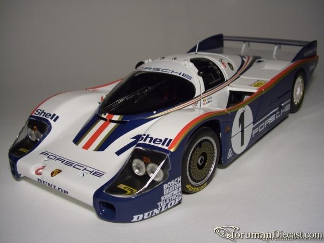 Porsche 956L N 1 WINNER 24h LE MANS 1982 ICKX BELL Minichamp