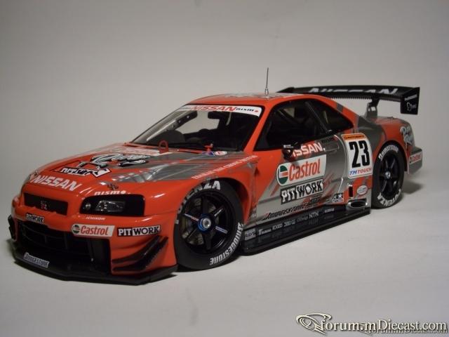 Nissan Skyline GT-R No.23, JGTC 2002 Castrol АА
