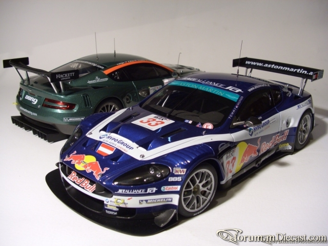 Auto Art sports car Aston Martin DBR9 Winner Mugello 2006 Re