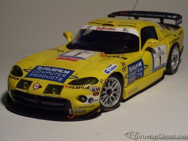 DODGE VIPER GTS-R NURBURGRING 24HR 2002 ZAKSPEED TEAM P.ZAKO