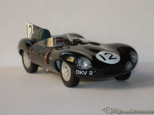 Jaguar D Type Le Mans 1954 Quartzo