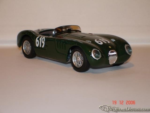 Jaguar C Type Mille Miglia 1952 Brumm