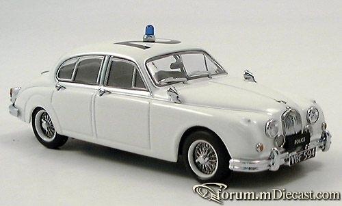 Jaguar MK II 1959 Police Minichamps
