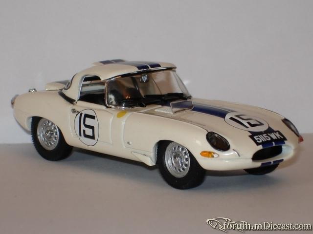 Jaguar E Type Serie 1 Le Mans 1963 Roadster Closed Kyosho