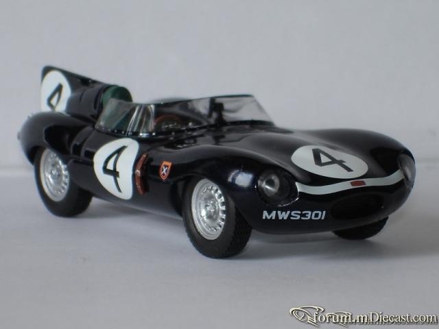 Jaguar D Type Le Mans 1956 Ixo