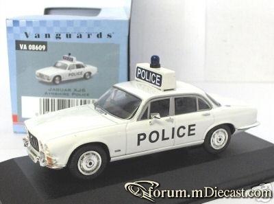 Jaguar XJ Serie 1 Ayrshire Police Vanguards