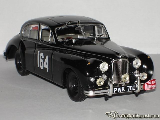 Jaguar MK VII Monte Carlo 1956 Altaya