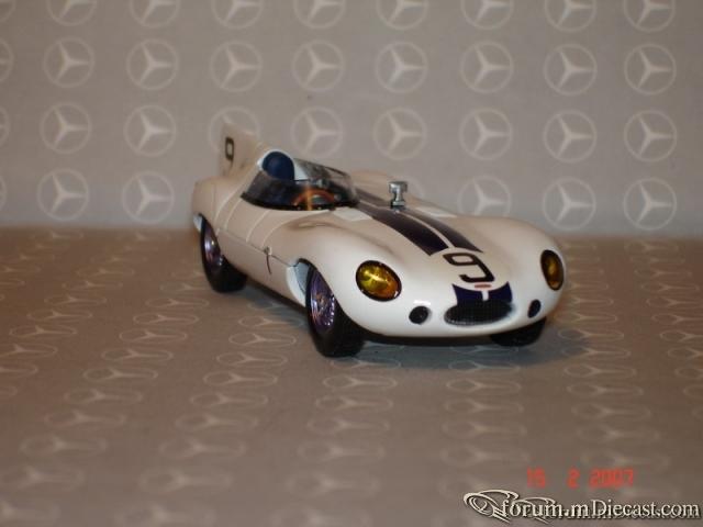 Jaguar D Type Le Mans 1955 Ixo