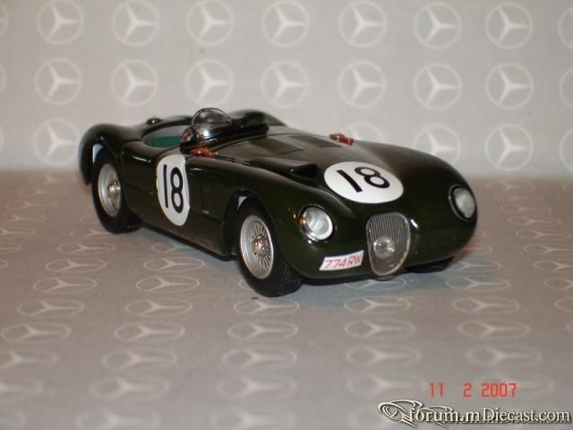 Jaguar C Type Le Mans 1953 Ixo
