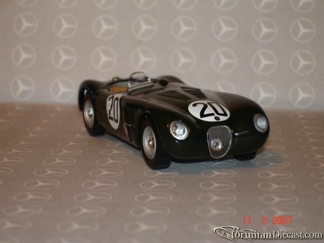 Jaguar C Type Le Mans 1951 Ixo