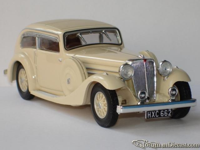 Jaguar SS1 Airline 1935 Altaya