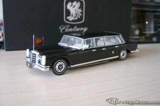 Mercedes-Benz W100 600 Pullman-Limousine 6-door 1969 GT-K
