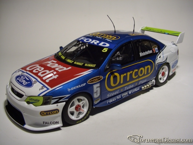 Ford Falcon BF Racing 2007 ,Classic Carlectables