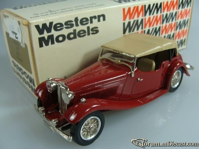 Jaguar SS1 1936 Top Western Models