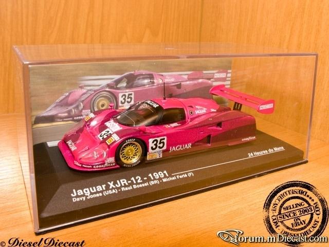 Jaguar XJR12 Le Mans 1991 Altaya