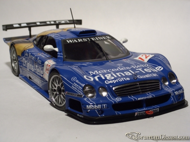 Mercedes Benz CLK GTR FIA GT 1998 ORIGINAL-TEILE#12 AA