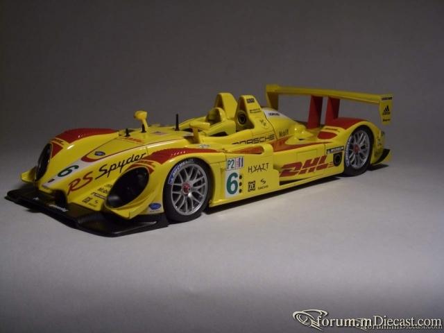 "PORSCHE RS SPYDER ALMS 2007 ""DHL""/PENSKE RACING #6"