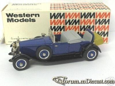 Rolls-Royce Phantom I Doctors Coupe 1926 Western Models