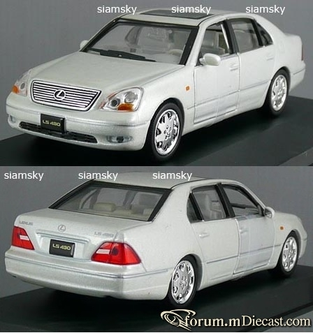 Lexus LS Serie 3 LS430 High Speed