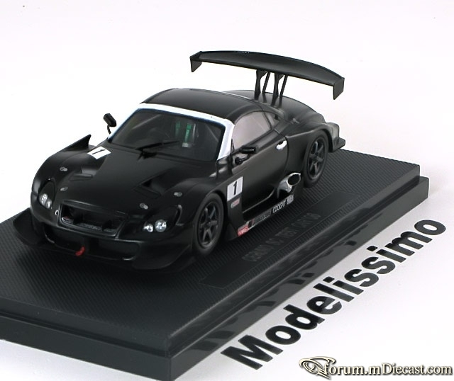 Lexus SC Serie 2 SC430 Super GT 2006 Test Car Ebbro
