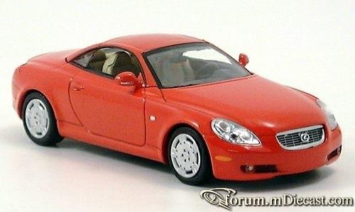 Lexus SC Serie 2 SC430 2001 Minichamps