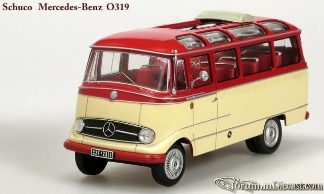 Mercedes-benz O319 Open Roof Schuco