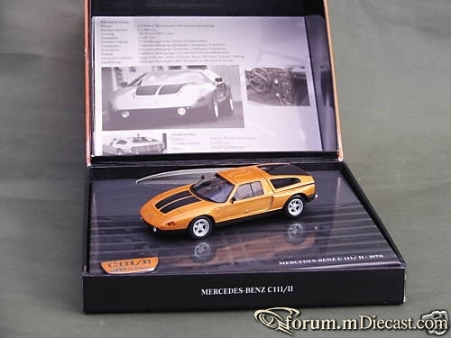 Mercedes-Benz C111/II Minichamps