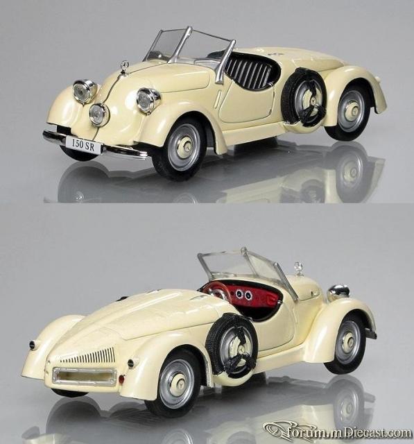 Mercedes-Benz W130 150 Sport-Roadster 1934 Altaya
