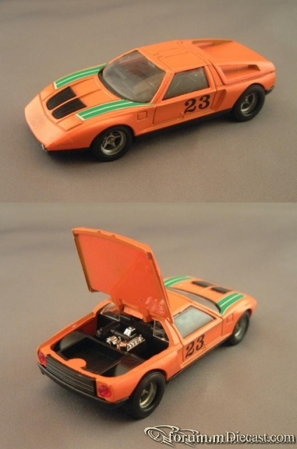 Mercedes-Benz C111/II Solido