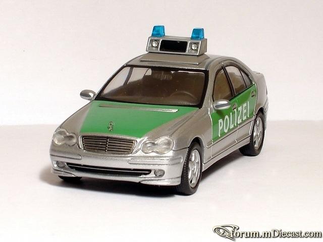 Mercedes-Benz W203 Sedan Polizei Schuco
