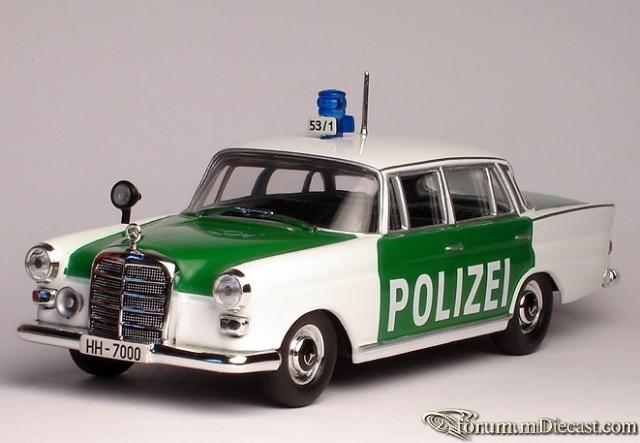 Mercedes-Benz W110 German Police 1960 Altaya