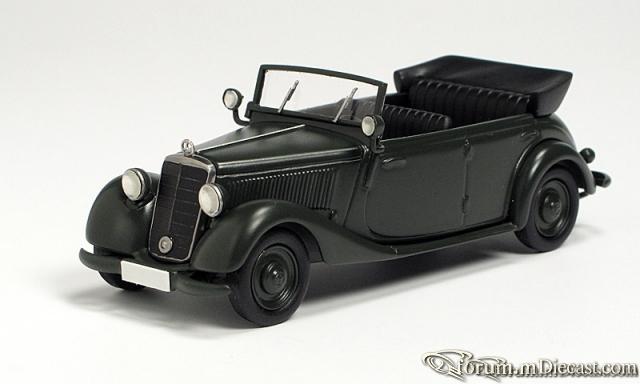 Mercedes-Benz W136 IV 170 Da Polizei-Turenwagen (OTR) 1951-1