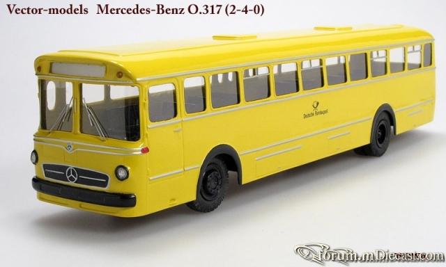 Mercedes-Benz O317 Deutsche Post Vector