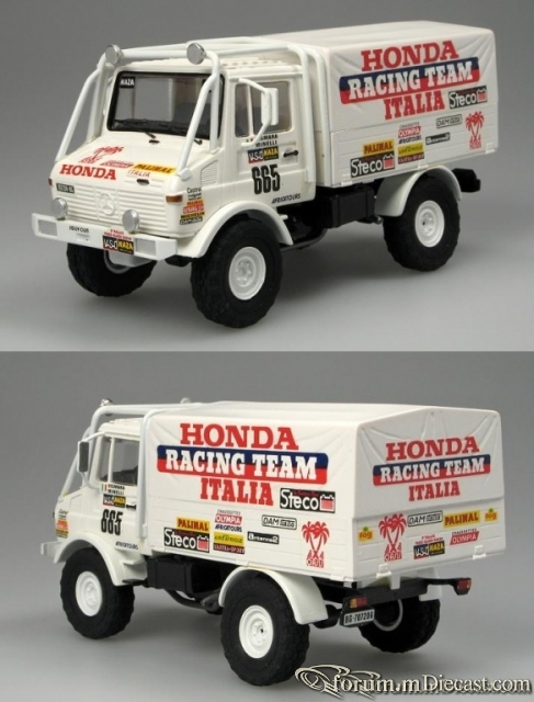 Mercedes-Benz Unimog U1300 Honda Italie-Paris-Dakar 1986 Gaf