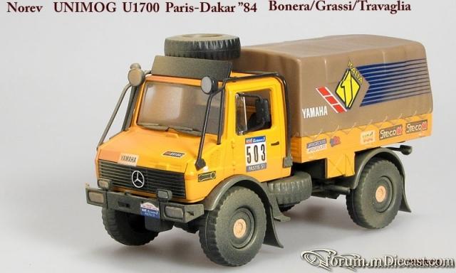 Mercedes-Benz Unimog U1700 Paris-Dakar 1984 Norev