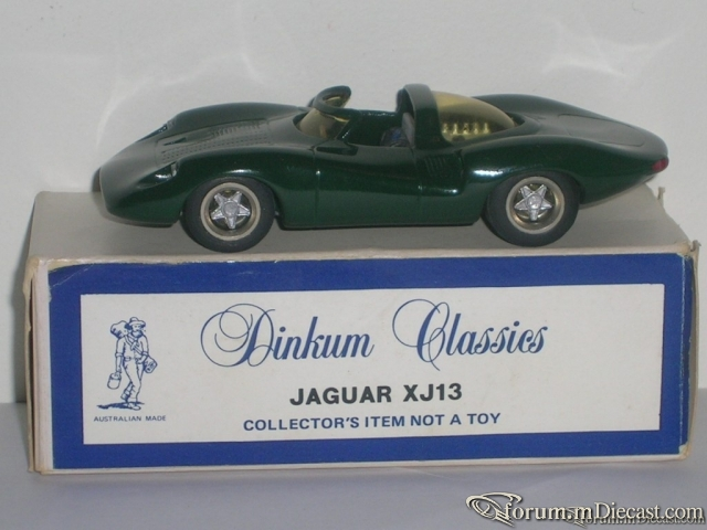 Jaguar XJ13 Dinkum Classics