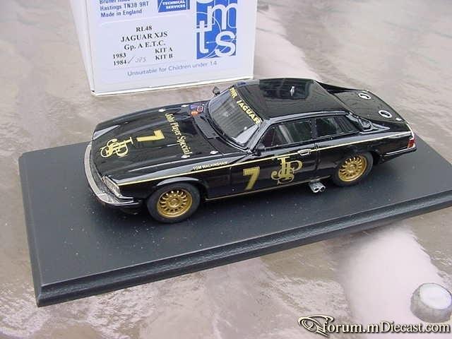 Jaguar XJS Gp A E T С 1984 TWR John Player Special SMTS