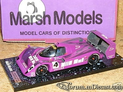 Jaguar XJR14 1991 Silverstone Marsch Models