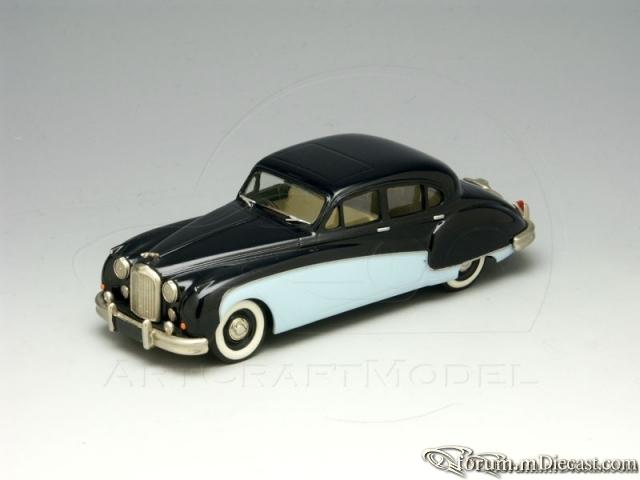 Jaguar MK VIII 1956 Milestone