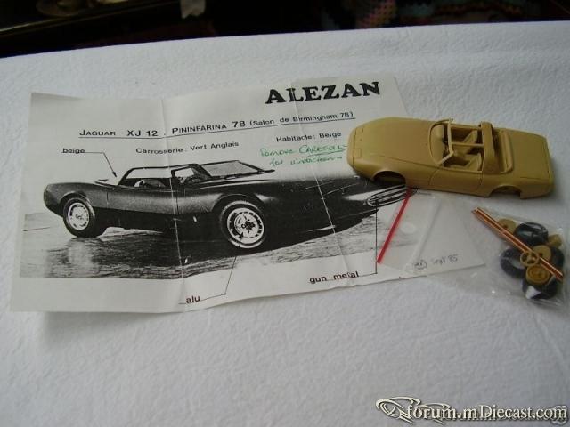Jaguar XJ12 Pininfarina 1978 Alezan KIT