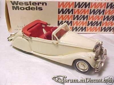Jaguar MK V Convertible 1949 Western Models