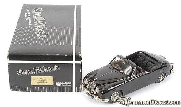 Jaguar MK II Vicarage Drophead Small Wheels Western Models