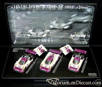 Jaguar SET XJR9 Le Mans 1988 HPI