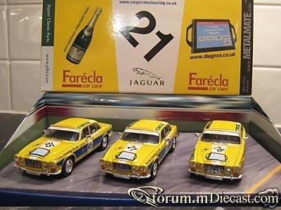 Jaguar SET XJ Serie 1 Racing Set Vanguards