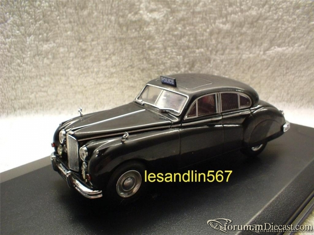 Jaguar Mk VII Worcestershire Police Constabluary Oxford
