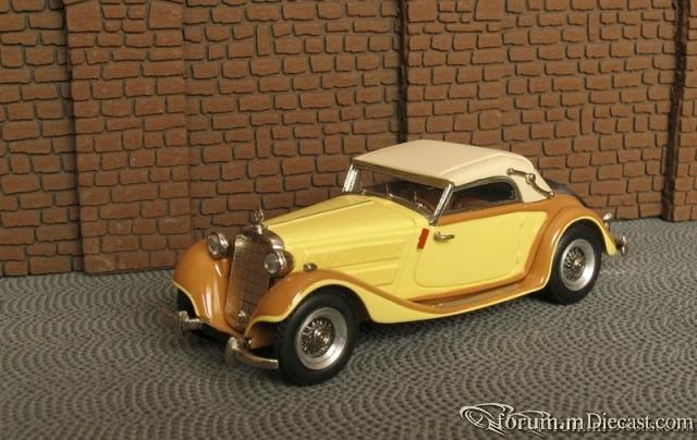 Mercedes-Benz W142 II Typ 320 Cabriolet A 1937-40 Master43