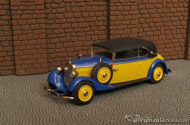 Mercedes-Benz W143 Typ 230 Cabriolet B 1937-40 Master43